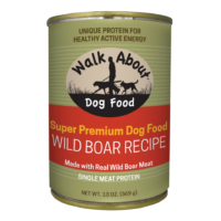 Walk About Wild Boar Recipe Canned Dog Food