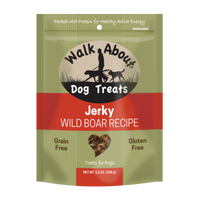 Walk About Wild Boar Jerky for Dogs