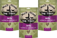 Walk About Merino & Goat Jerky for Dogs