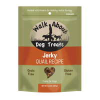 Walk About Quail Jerky for Dogs