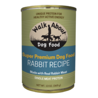 Walk About Rabbit Recipe Canned Dog Food