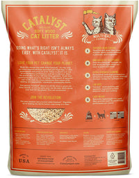 Catalyst Pet Soft Wood Cat Litter Multi-Cat Formula