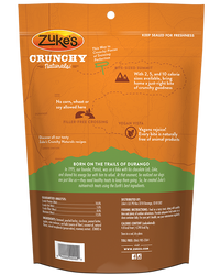 Zuke's Crunchy Naturals 5s Baked with Peanut Butter & Apples