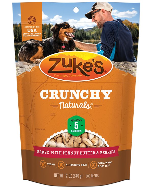 Zuke's Crunchy Naturals 5s Baked with Peanut Butter & Berries
