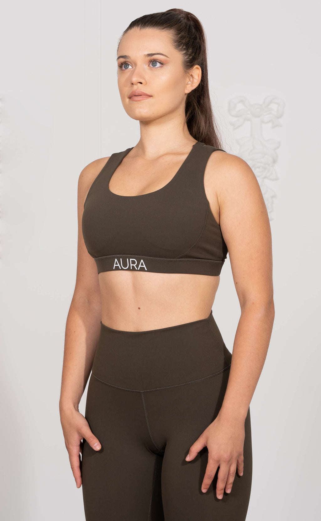 Forest Green Endurance Crop Top