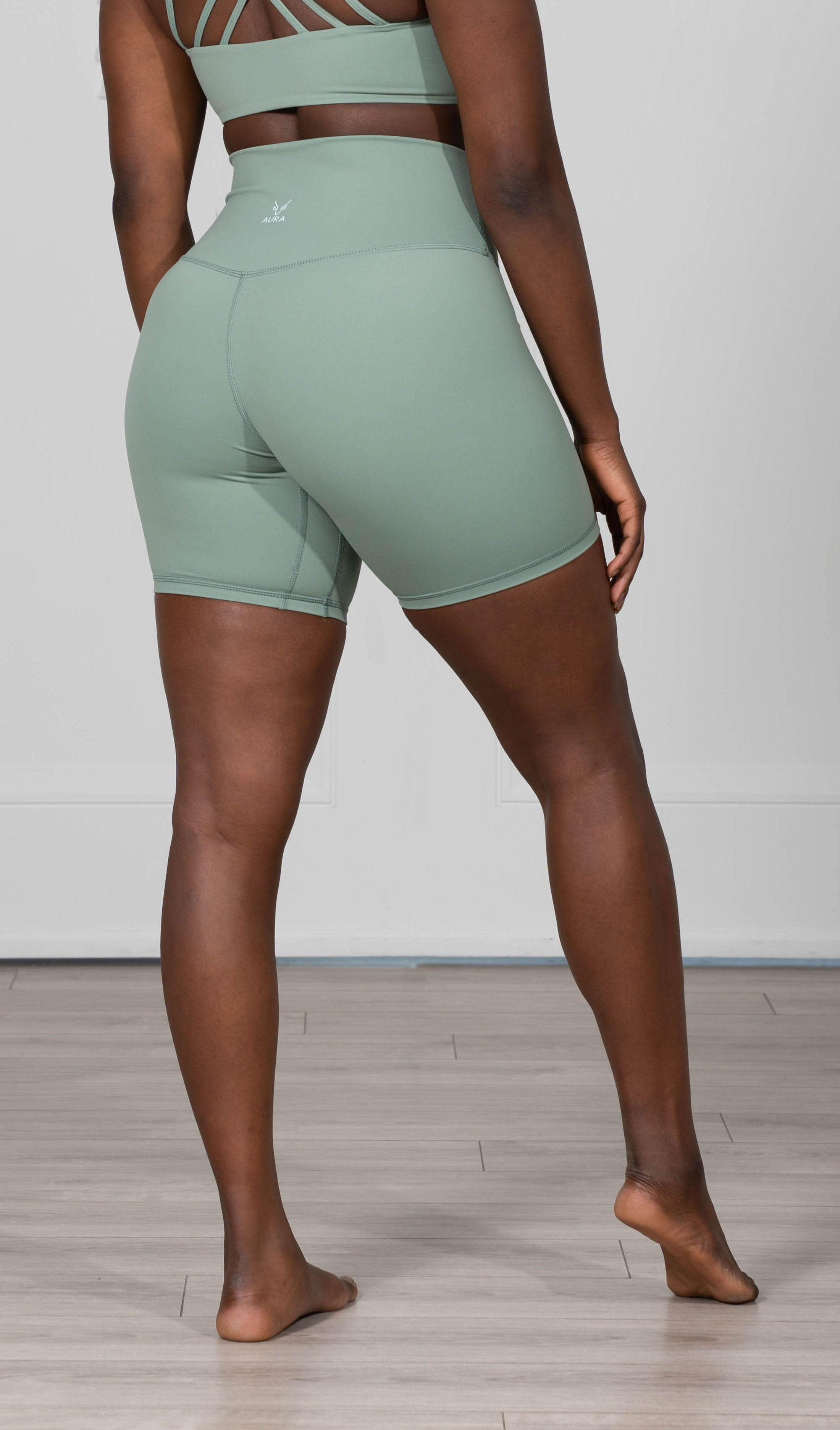 Mint Green Divinity Shorts