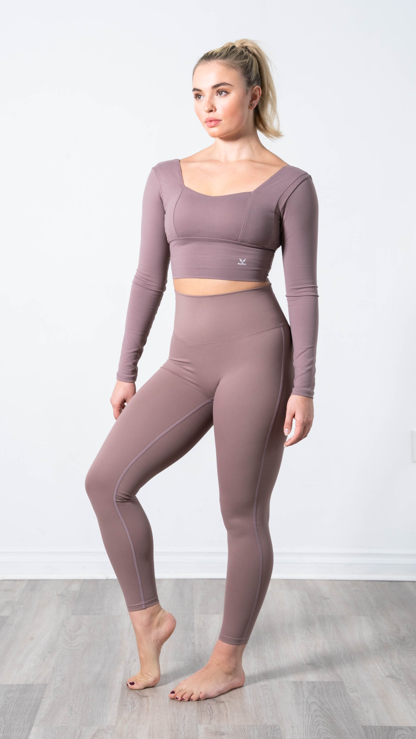 Elevate Mauve Mood Legging