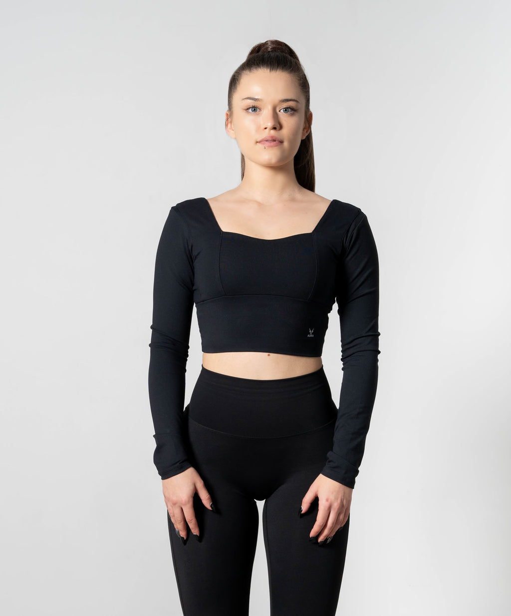 Elevate Classic Black Long Sleeve Top