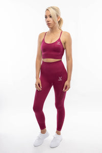 Beet Red Namaslay Legging