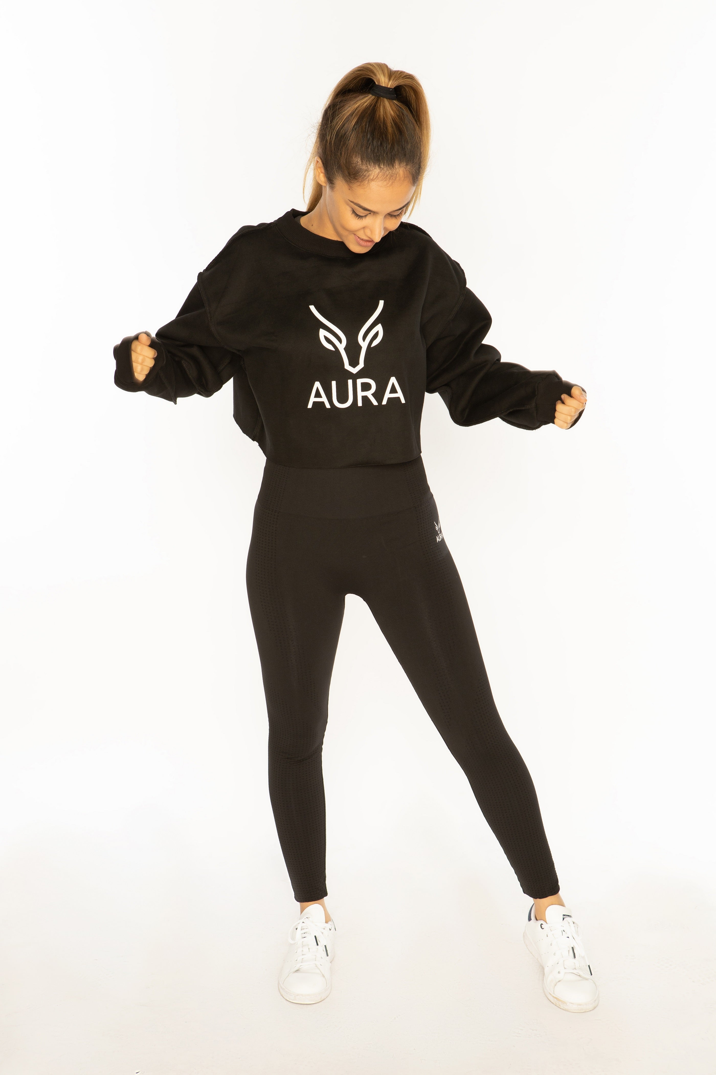 Aura Cropped Sweater