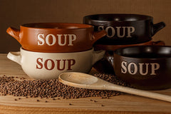 Wholefood Organic Soup is a super healthy meal with some good bread.