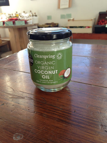 Clearspring Organic Raw Virgin Coconut Oil