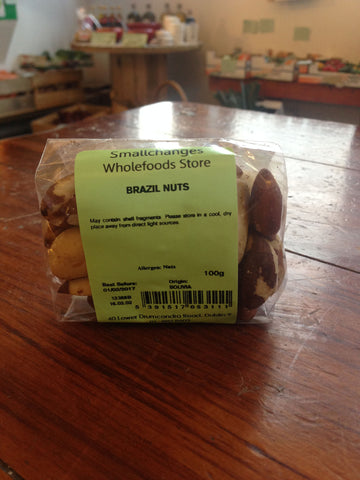 Brazil Nuts - Whole Un-blanched 100g