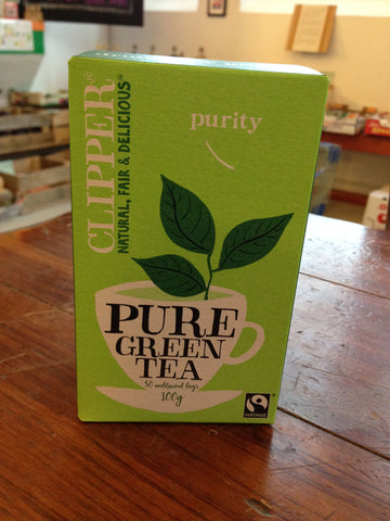 Clipper Fairtrade Pure Green Tea - 26
