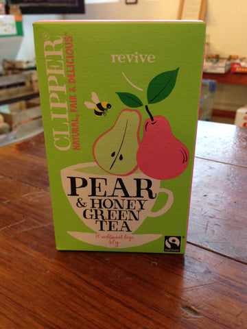 Fairtrade Green Tea Pear & Honey -20
