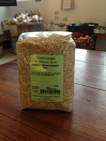 Organic Brown Basmati Rice 500g