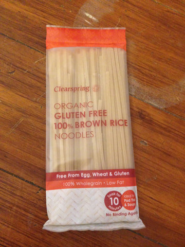 Organic G/F Brown Rice Noodles 200g