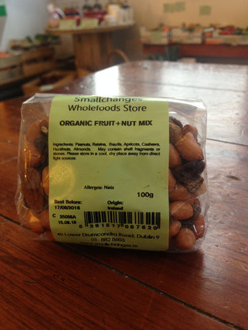 Organic Fruit & Nut Mix 100g