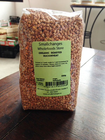 Organic Roasted Buckwheat 500g