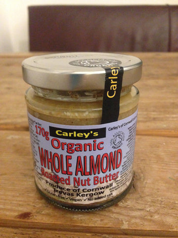 Organic Smooth Almond Butter 170g