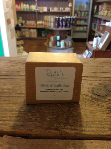 Ruth's Unscented Castile Soap