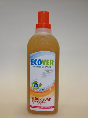 Ecover Linseed Oil Floor Soap 1Lt