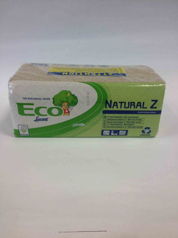 Lucart Eco Natural Z Fold Hand Towels (220 Sheets)