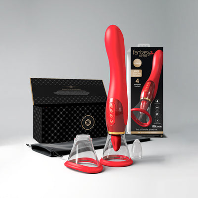 Fantasy For Her Ultimate Pleasure 24K Gold Luxury Edition Set