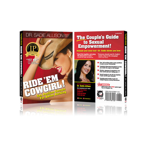 Ride 'Em Cowgirl Front and Back Cover