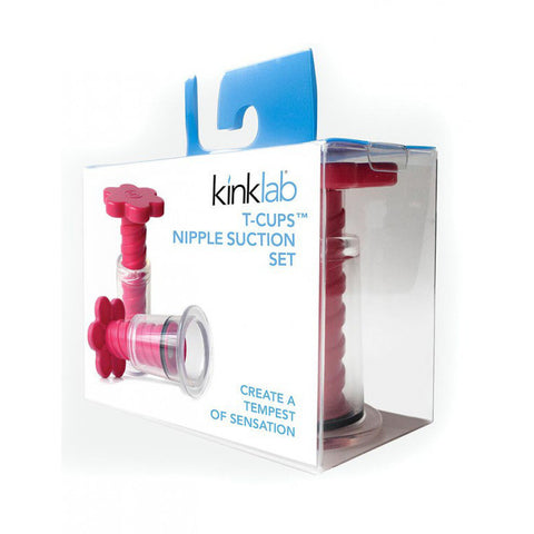 KinkLab T-Cups Nipple Suction Duo Box