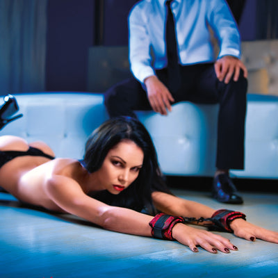 Tease-Me Cuffs Lifestyle on Her