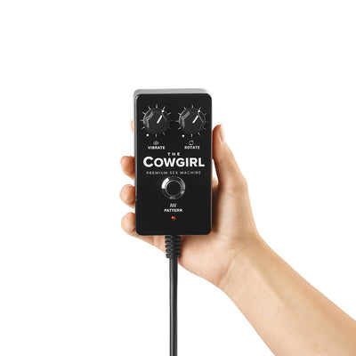 The Cowgirl Premium Sex Machine remote