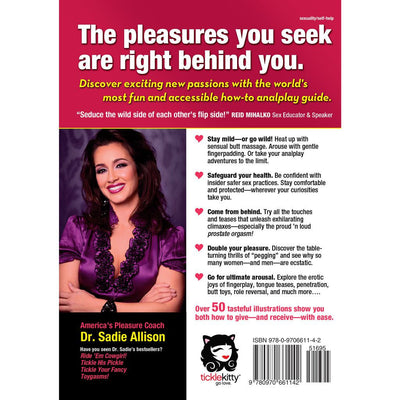 BACK COVER: Tickle My Tush: Mild-to-Wild Analplay Adventures for Everybooty
