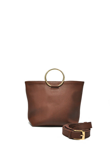 Mini Audrey Crossbody - Brown - Positive Elements
