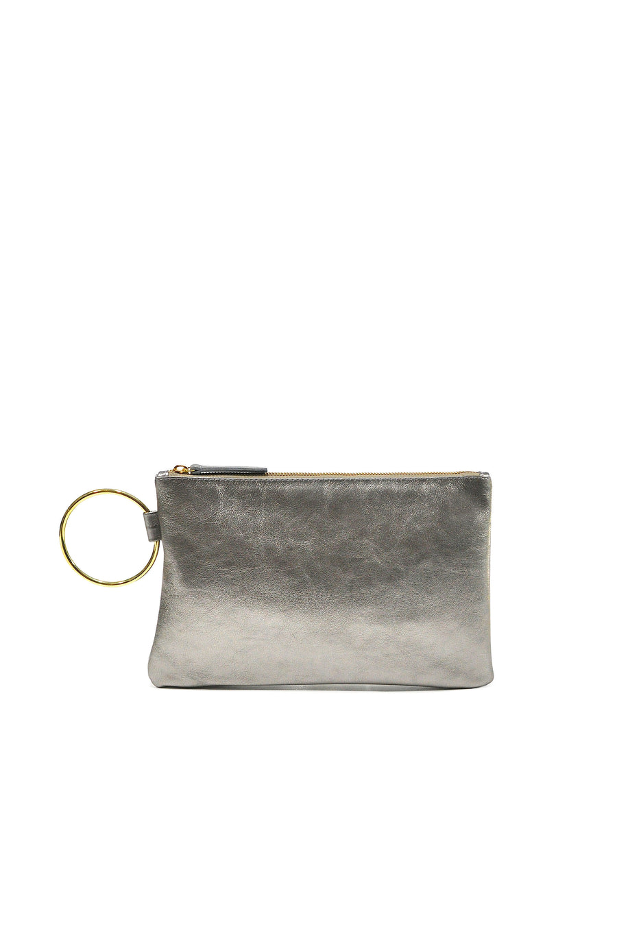 Gavi Leather Clutch Camel - Positive Elements