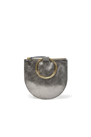 Joy Leather Pouch - Pewter - Positive Elements