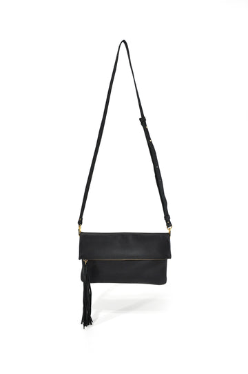 Lovely leather Crossbody Black - Positive Elements