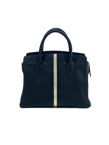 After Hour Zippered Satchel Black - Positive Elements