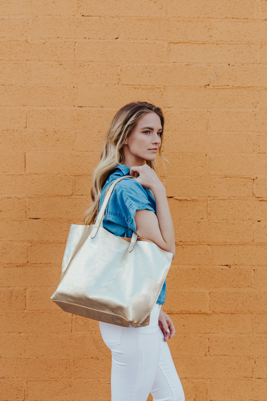 Edge Tote Gold - Positive Elements