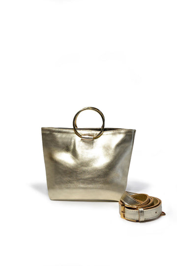 Mini Audrey Crossbody - Gold - Positive Elements