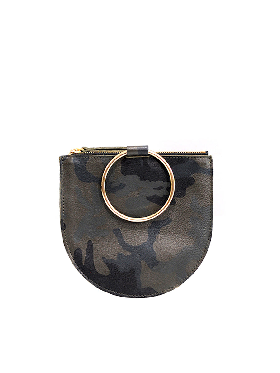 Joy Leather Pouch - Green Camo - Positive Elements