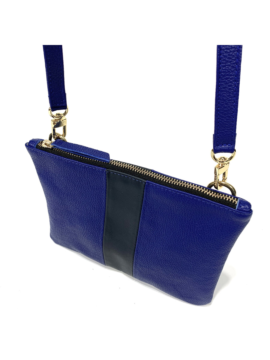 Kay Crossbody Cobalt with Navy - Positive Elements