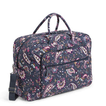 Load image into Gallery viewer, Felicity Paisley-Grand Weekender Travel Bag