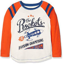 Hatley-The Rockets L/S Raglan Tee