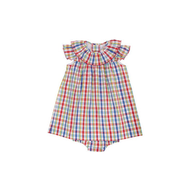 TBBC-Dorothy Day Dress and Bloomers Pinecrest Plaid