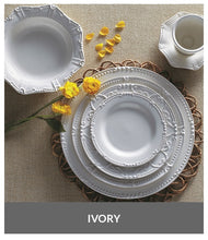 Load image into Gallery viewer, Skyros-ISABELLA-Ivory-Dinner Plate