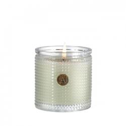 Fresh Hydrangea-Textured Glass Candle