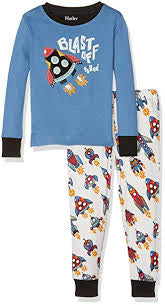 Hatley-Blast Off To Bed Pajama Set