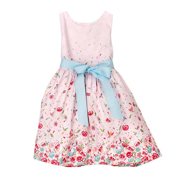 The Bailey Boys-Pink Floral Dress