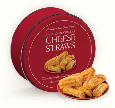 Traditional Cheddar Cheese Straws-16 oz Gift Tin